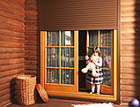 Защитные роллеты / рольставни Алютех на фасад 2000х1600, фото 3