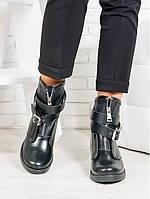 """Женские ботинки черная кожа """"Patrick"""""""