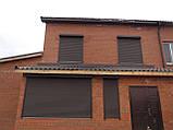 Защитные роллеты / рольставни Алютех на фасад 2000х1600, фото 9