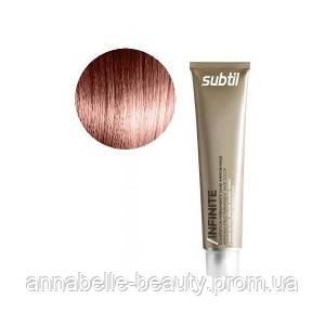 Ducastel Subtil Infinite - стойкая крем-краска для волос без аммиака 6-45 - тёмный блондин медный красн, 60 мл
