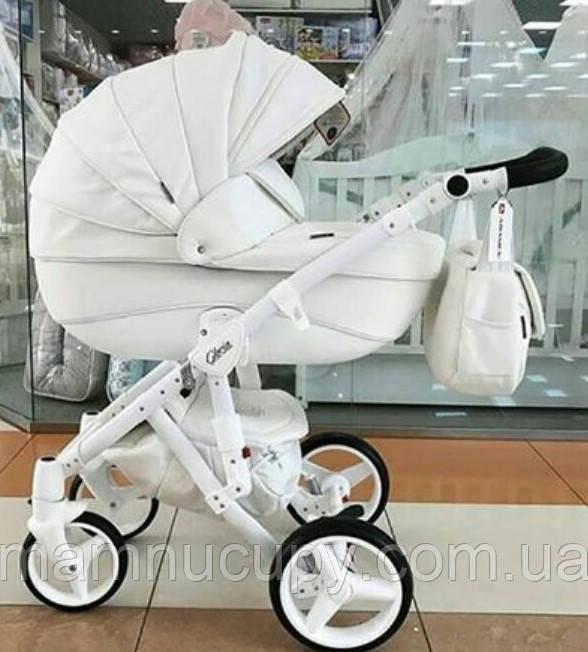 Детская универсальная коляска 2 в 1 Adamex Gloria 10S 100% eco (адамекс глория)