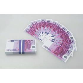 """Сувенірні гроші """"500 євро"""", міні, Сувенирные деньги """"500 евро"""""""