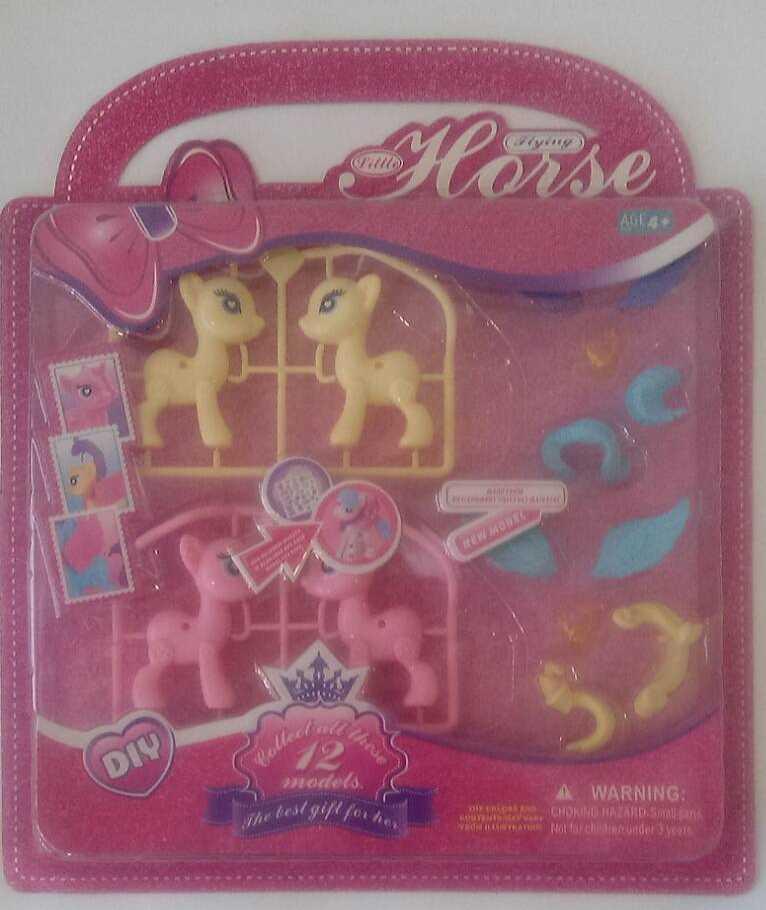 """Игровой набор """"Пони"""", акссесуары, матерал - пластик, GJ14612/258-10"""