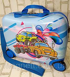 "Детский чемодан-каталка ""Машинки"""