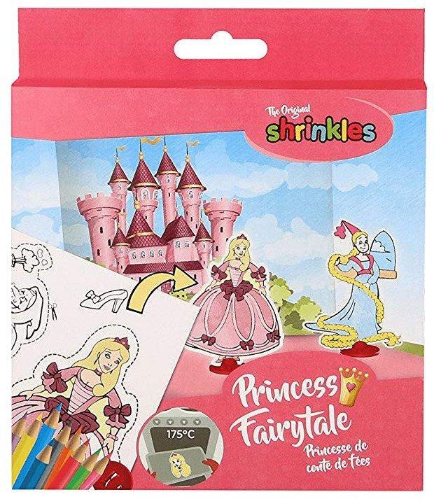 Мини набор для творчества Shrinkles Сказочные Принцессы. KeyCraft WZ055, Великобритания
