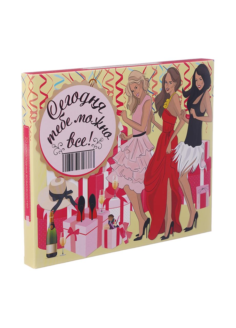 Шоколадный набор Shokopack XL женских желаний 20 х 5 г Молочный
