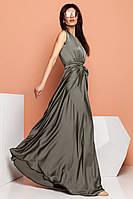 Нарядное платье для полных женщин большого размера (S, M, L, XL, XXL)