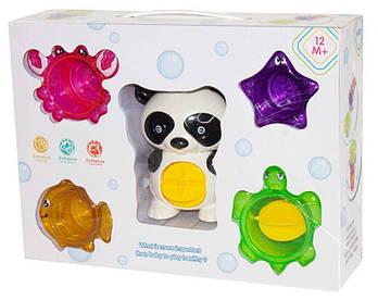 Набор для ванной «Панда и его команда» 5542