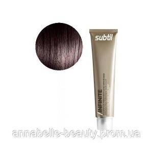 Ducastel Subtil Infinite - стойкая крем-краска для волос без аммиака 6-7 - тёмный блондин каштановый, 60 мл