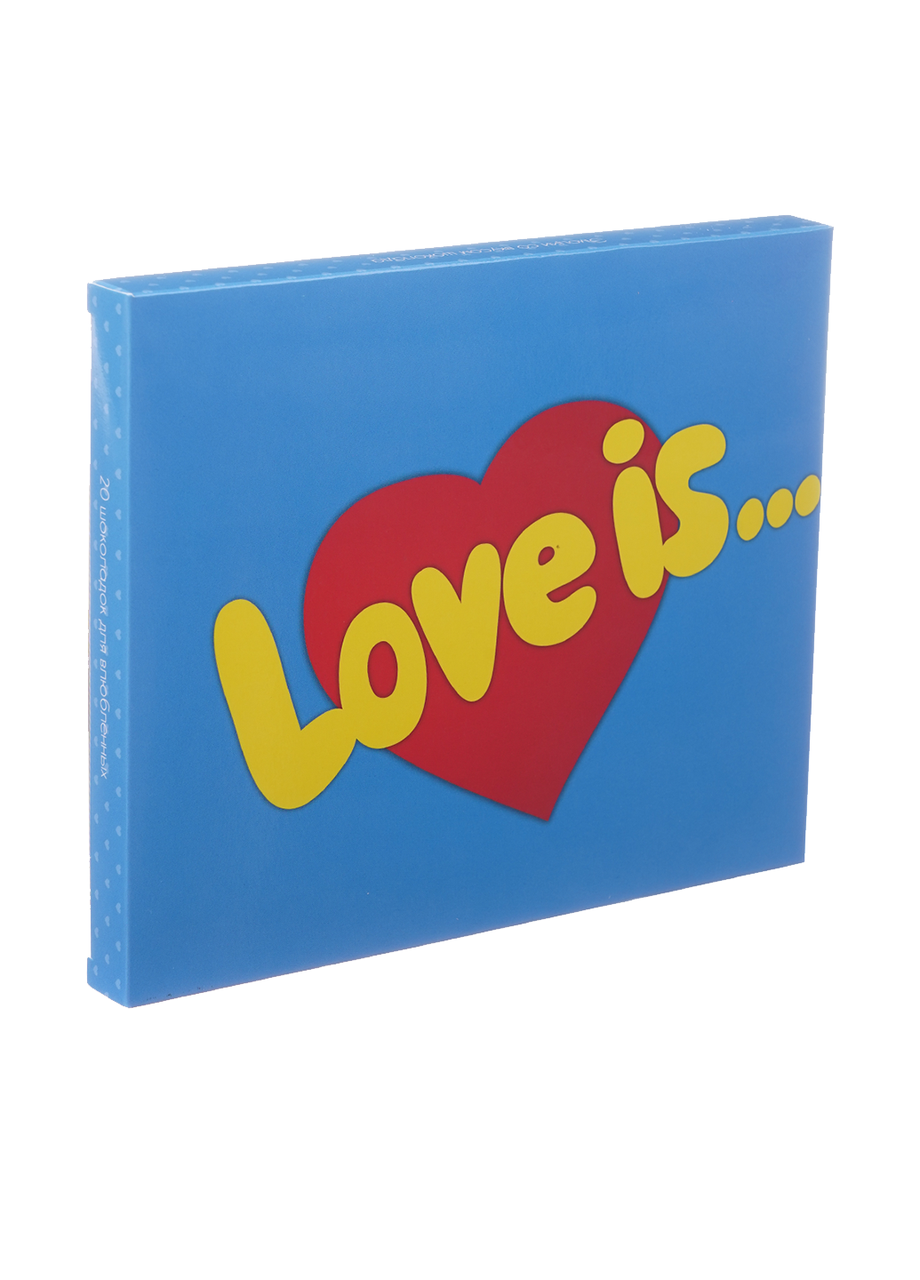 Шоколадный набор Shokopack XL Love is 20 х 5 г Молочный