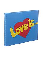 Шоколадный набор Shokopack XL Love is 20 х 5 г Молочный, фото 1