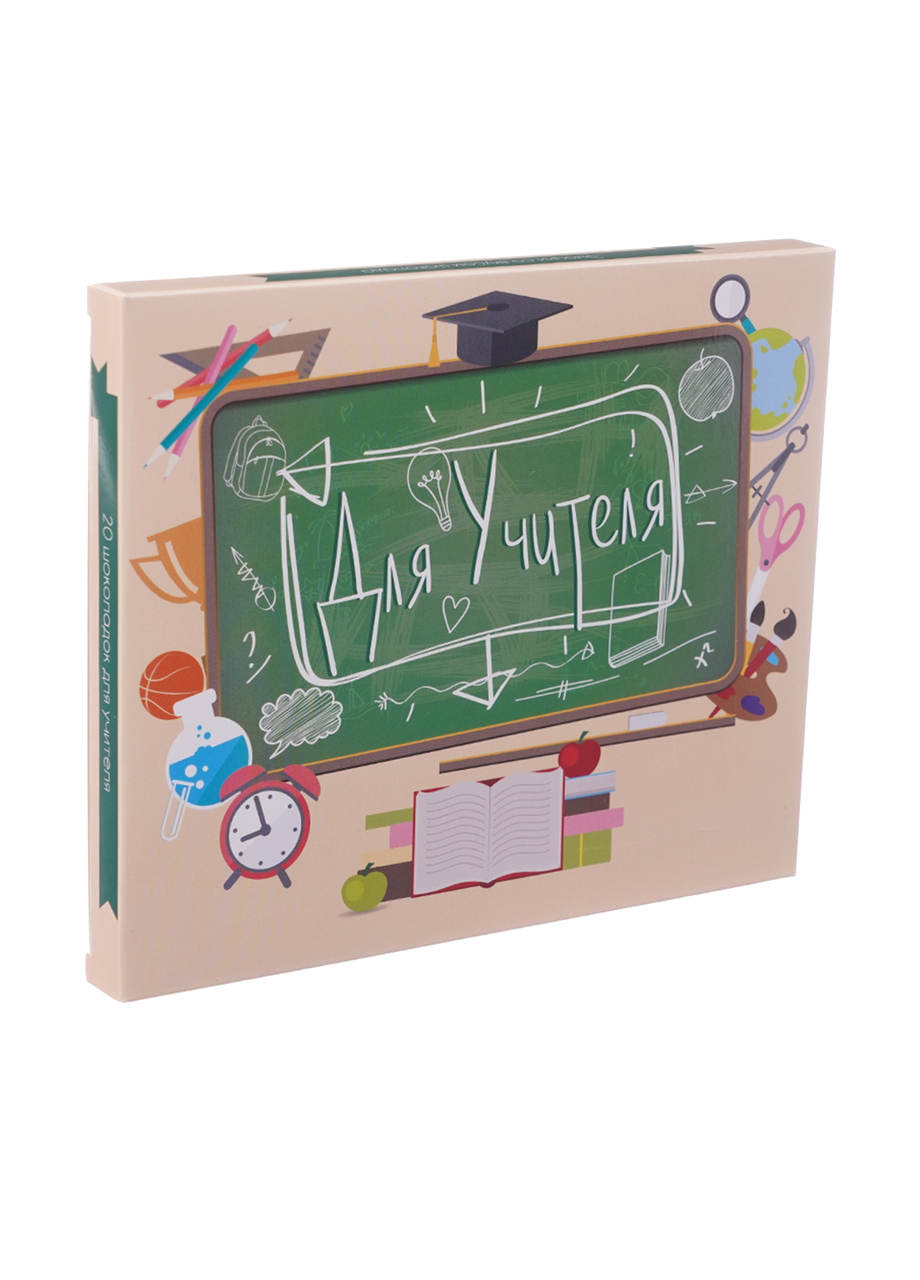 Шоколадный набор Shokopack XL для учителя 20 х 5 г Молочный