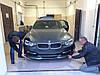 Губа BMW F30 тюнинг обвес переднего бампера стиль AC Schnitzer, фото 6