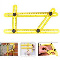 Профессиональный инструмент для шаблона углов Инструмент для измерения угла Манипулятор Многоуровневая линейка Инструмент макета-1TopShop