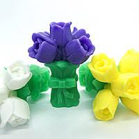 Мыло ручной работы  Букет тюльпанов 75 г №2 Naturalina