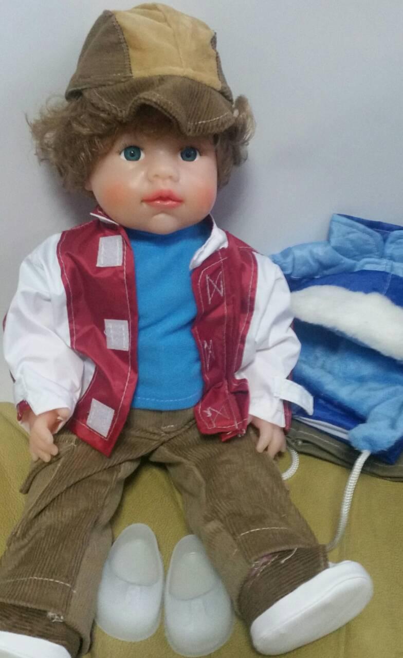 Кукла ЖЕНЕЧКА (с компектом одежды), В204