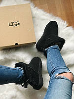 САПОГИ ЖЕНСКИЕ UGG MINI BAILEY BOW II Black