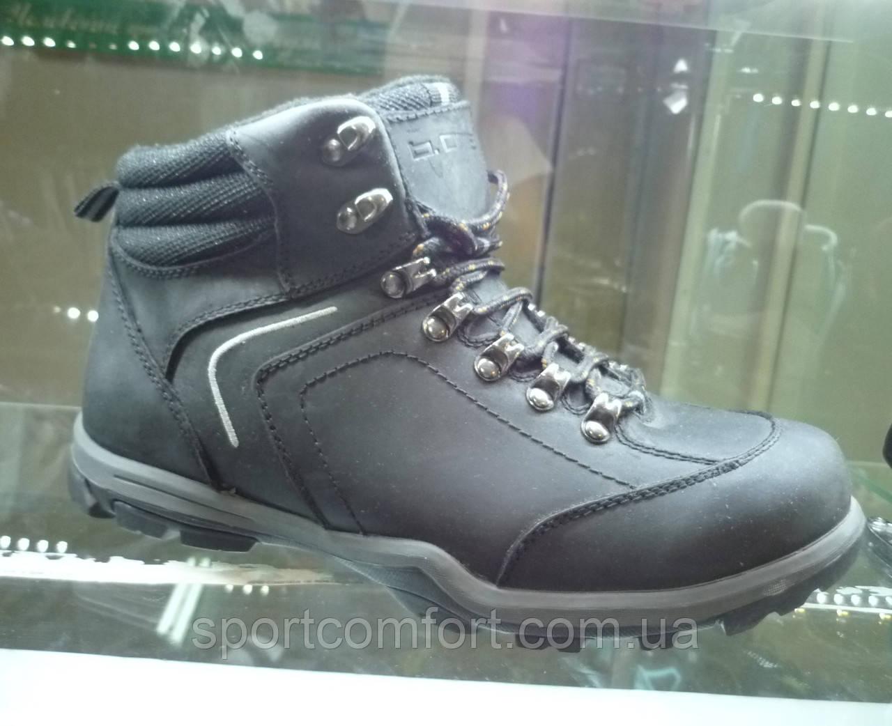 Ботинки b. one черные 1201 061