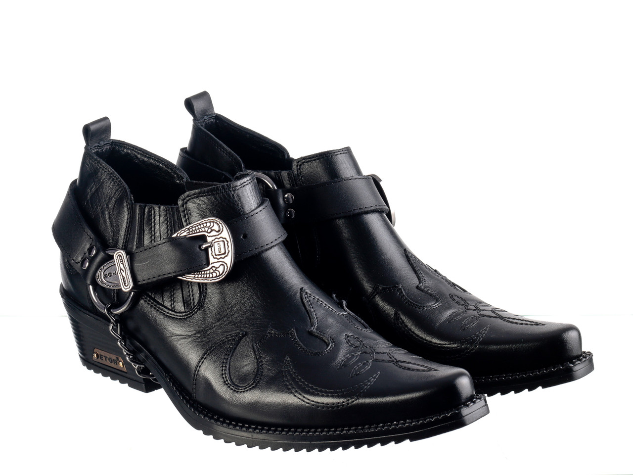 Казаки Etor 15407-005 черный