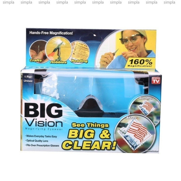 Увеличительные очки-лупа Big Vision BIG and CLEAR