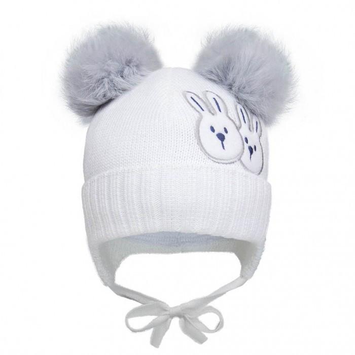 Зимняя шапка для маленького мальчика р-р 42,44