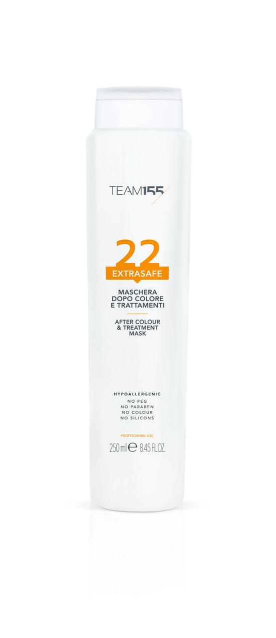 Team155 Extrasafe 22 Maска для окрашенных волос, 250 мл