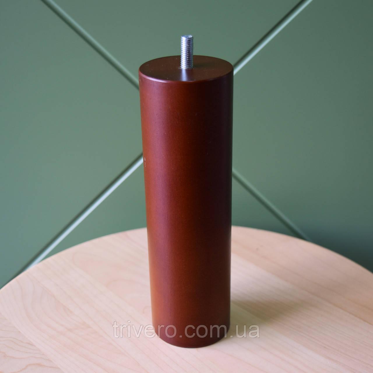 NM-07. Мебельные ножки и опоры деревянные  круглые H.200 D.60