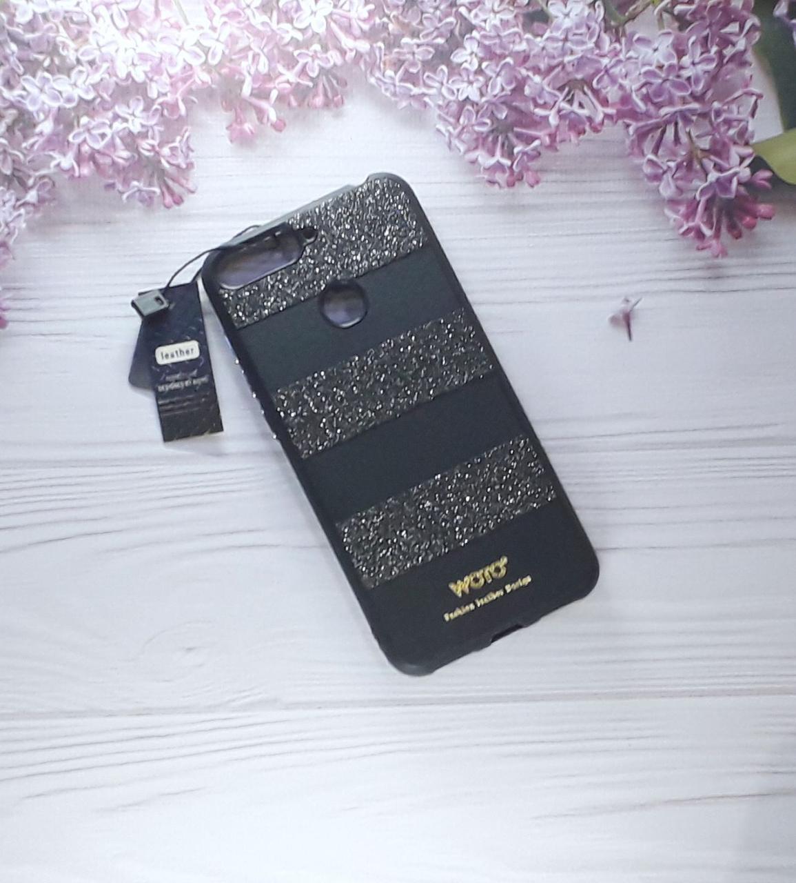 Чехол накладка WOTO на Huawei Y6 (2018), Honor 7A  pro Black