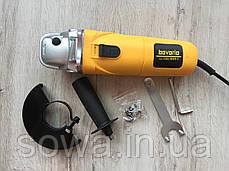 ✔️ Болгарка Einhell Bavaria BWS 125/850-1  ( 850Вт, 125 круг )  + ПОДАРОК, фото 3