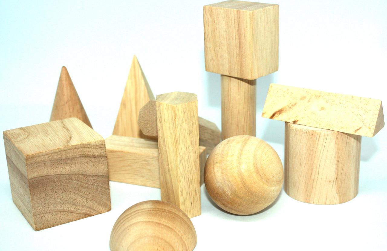 Набір моделей геометричних тіл для кабінету математики