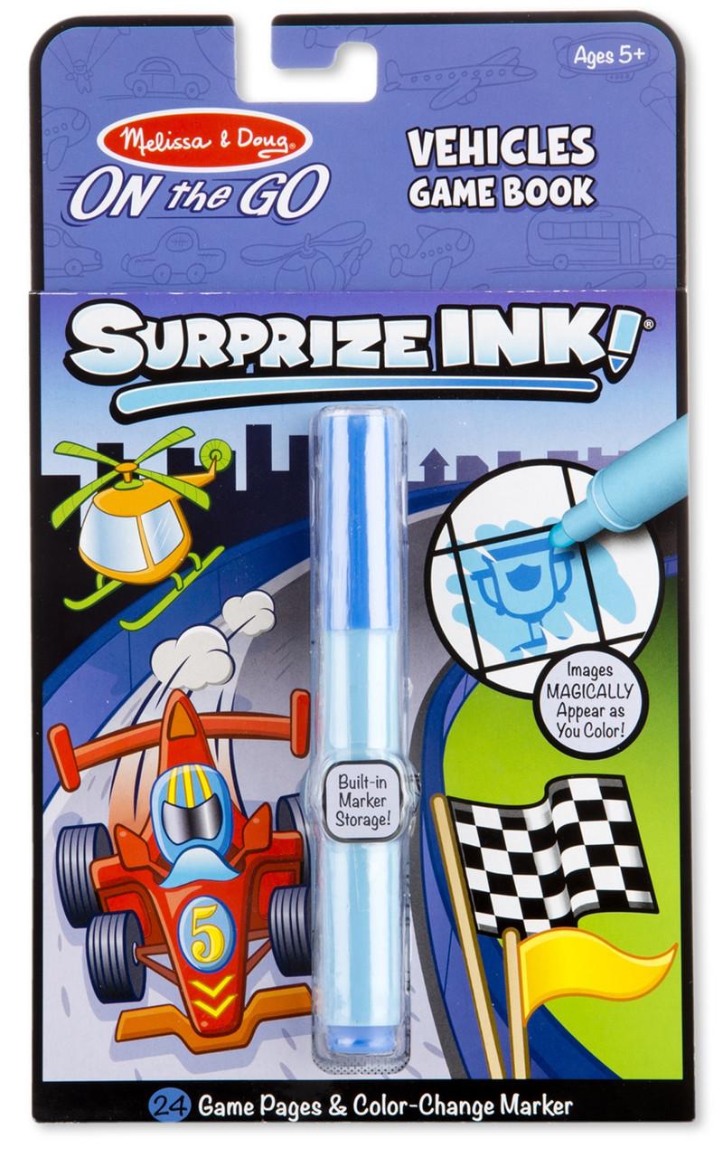 Волшебная раскраска сюрприз Автомобили Melissa & Doug (MD5286)