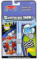 Волшебная раскраска сюрприз Автомобили Melissa & Doug (MD5286), фото 1