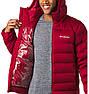Мужская пуховая красная куртка Columbia Wrightson Peak II, фото 5