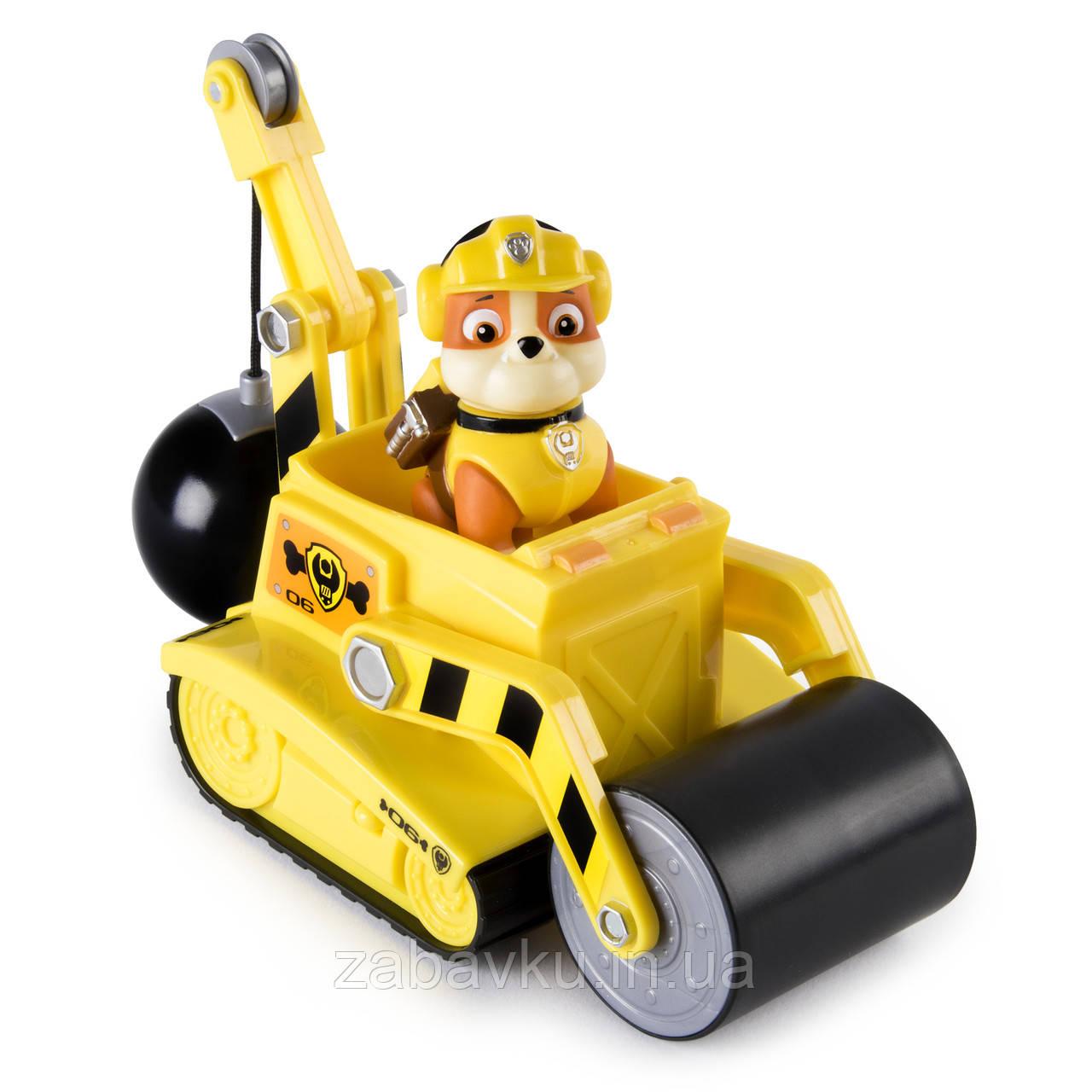 Щенячий Патруль Крєпиш Paw Patrol Rubble´s Steam Roller Construction V