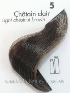 Тонирующая крем-краска для волос Ducastel Subtil Couleur Tone HD 5 - светлый шатен, 60 мл