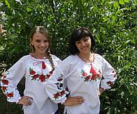 Вышиванка женская для мамы и дочки.