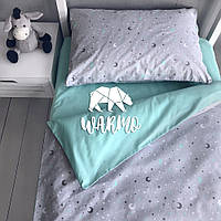 """Комплект дитячої постільної білизни Warmo™ """"Небо"""" 1,5-спальний"""