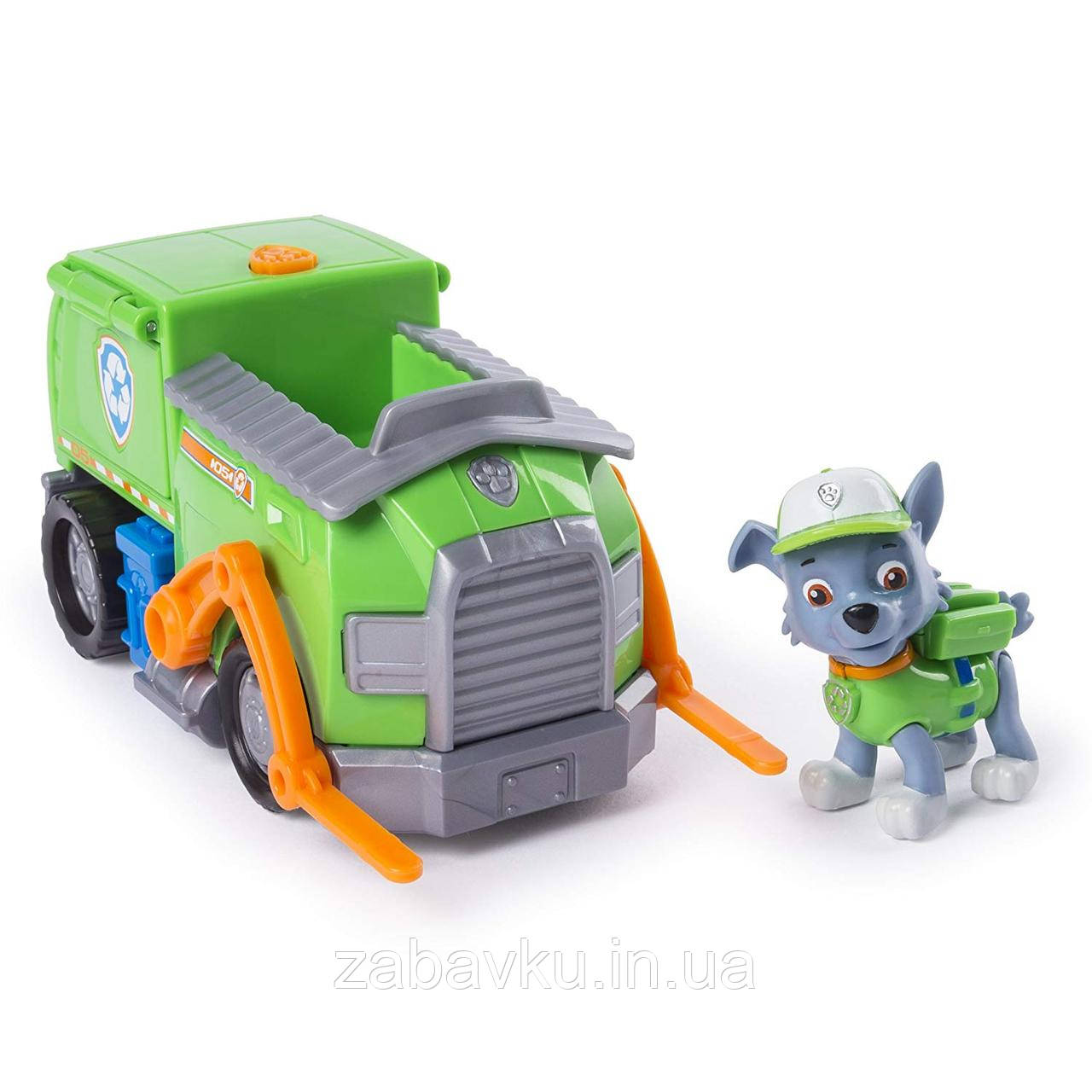 Щенячий Патруль Рокі Paw Patrol Rocky's Transforming  Recycle Truck with Pop-out Tools