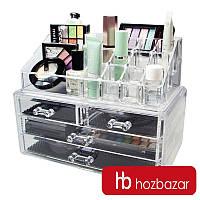 Акриловый органайзер для косметики Cosmetic Storage Bo
