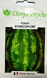 Семена арбуза Кримсон Свит 1г ТМ ДОБРІ СХОДИ