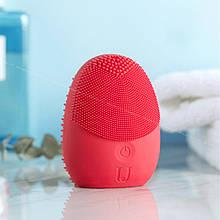 Звукова масажна щітка для особи Xiaomi Mijia Sonic facial cleansing brush Red