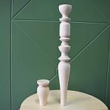 Тонкие точеные ножки и опоры для консоли из дерева, фото 2