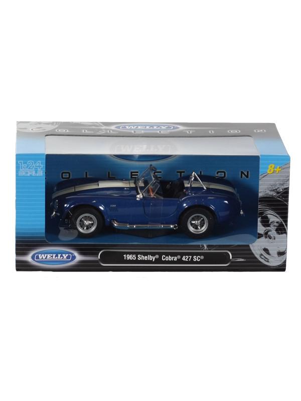 "Машина Welly ""SHELBY COBRA 427 SC 1965"", металлическая, 24002W"