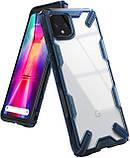 Чехол Ringke Fusion X для Google Pixel 4 SPACE BLUE, фото 5