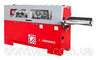 Кромкооблицовочный станок Holzmann KAM 35Max с прифуговкой