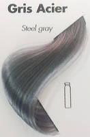 Тонуюча гель-фарба для волосся Ducastel Subtil Couleur Tone HD Gris Acier - сірий сталевий, 125 мл