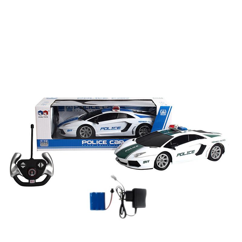 Машина полиция на р/у, аккумуляторная, 838-6A