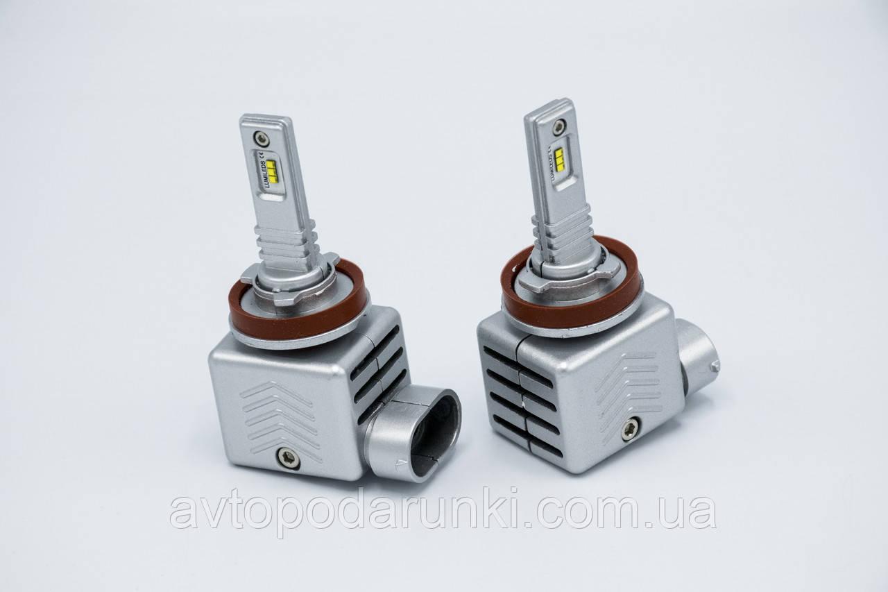 9S-H11 LED лампы головного света/12-18v/6000Lm/6500K/1шт