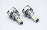 7X-H7 LED лампы головного света/12-24v/4500Lm/6500K/1шт, фото 1