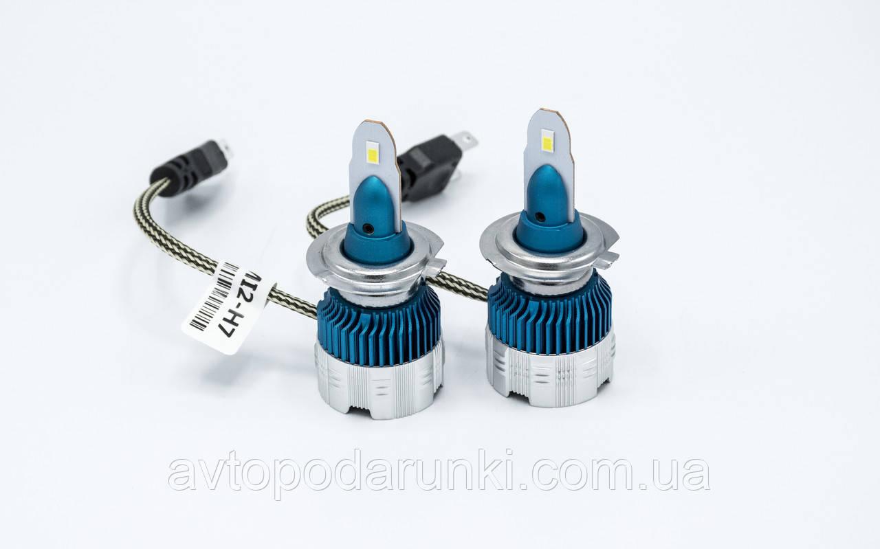 Mi2-H7 LED лампы головного света/12v/6000K/3000Lm/1шт
